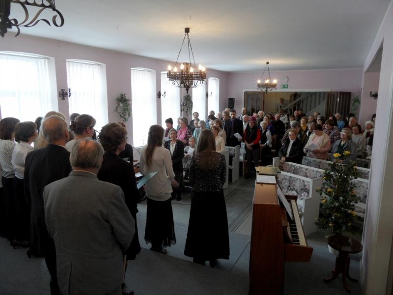 sam 3758 Vaikse Laupäeva teenistus Rakveres