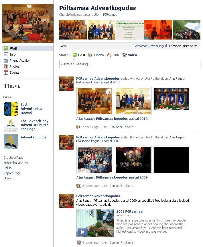 gfrg Meie kogudus nüüd ka Facebookis!