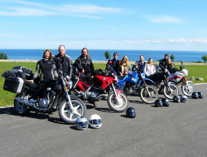 P6080056 714x540 Adventistidest mootorratturite ühine motomatk Saaremaal