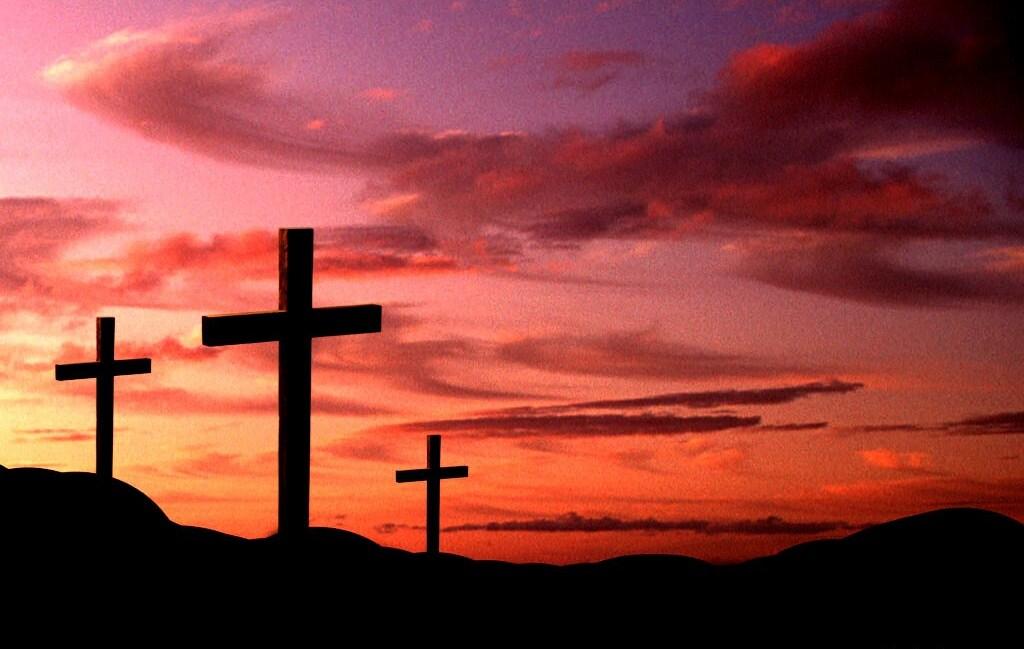 3crossesatsunset3 Jeesusele mõeldes