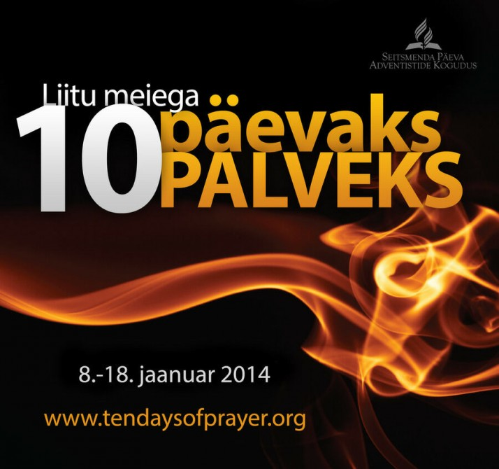 10 paeva palvet   suur banner 714x670 Kümnepäevane palveaeg