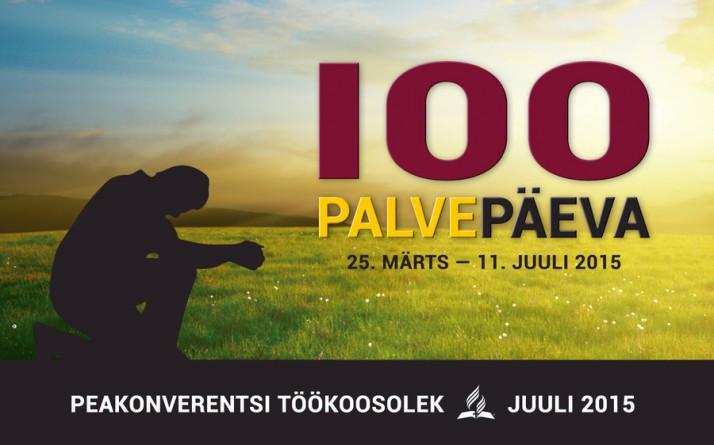 100 palvepaeva 714x445 Täna algab üleilmse koguduse 100päevane palveaeg