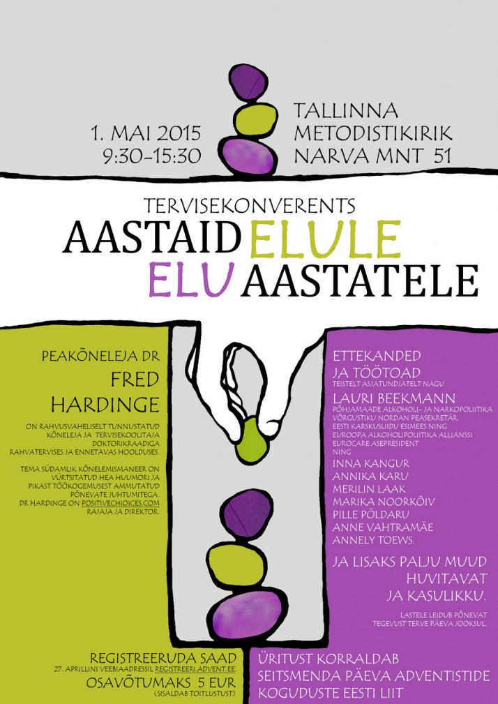 tervisekonverents 2015 poster ek 714x1009 Tervisekonverents Tallinnas