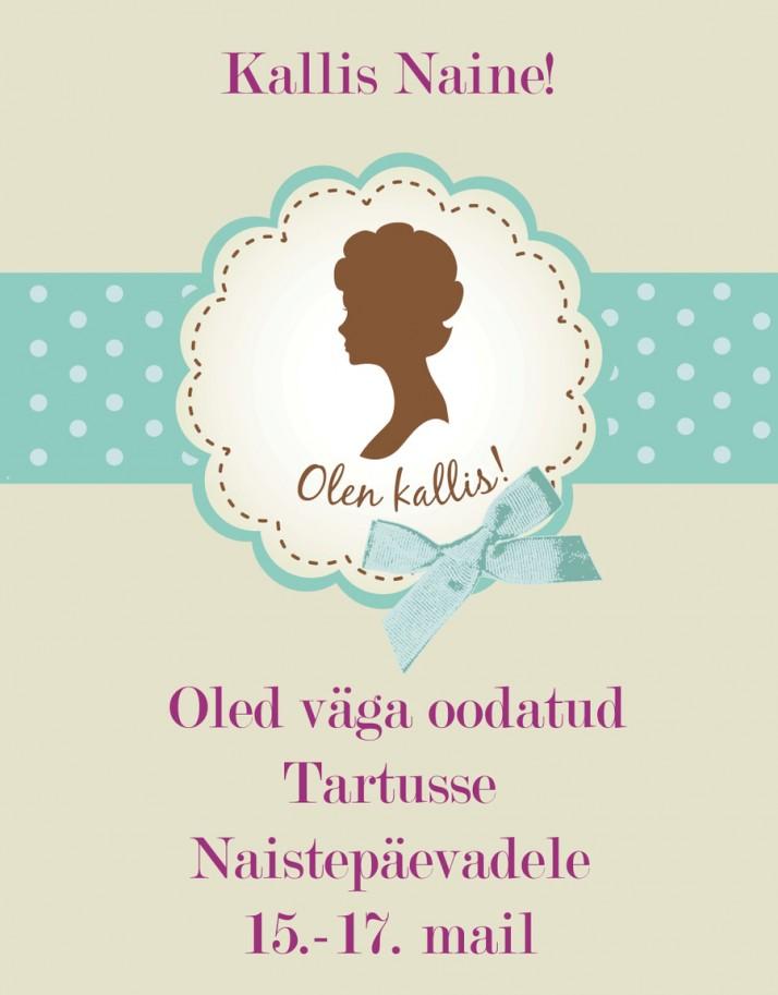 naistepaevade plakat 1000x1415px 714x913 Naistepäevad Tartus