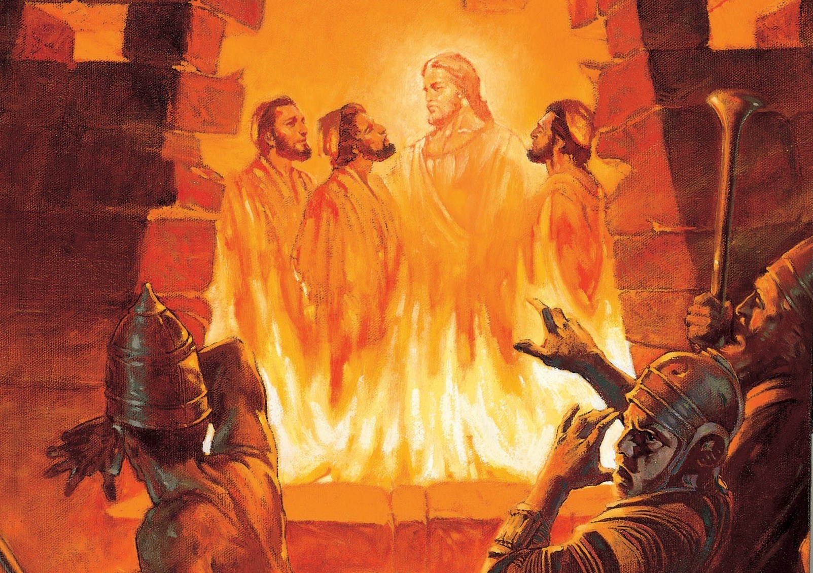 three men in the fiery furnace william maughan 1985 Taanieli raamatu õppimine