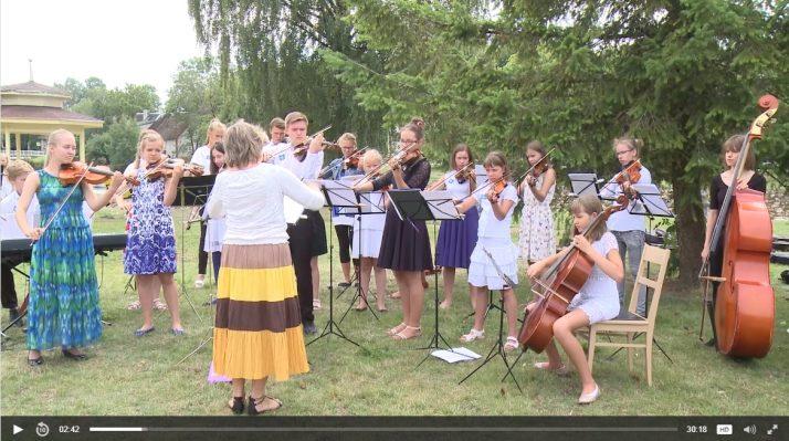 Pillis 714x399 Video: Baltimaade noorteorkestri kontsert Põltsamaal