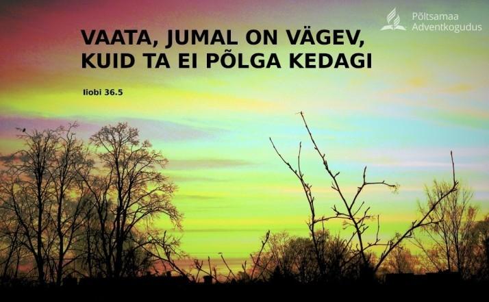 Jumal on vägev 714x441 Usalda Jumalale kõik