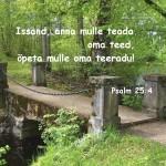 õpeta oma teeradu 150x150 Jumala iseloom = Kristuse iseloom